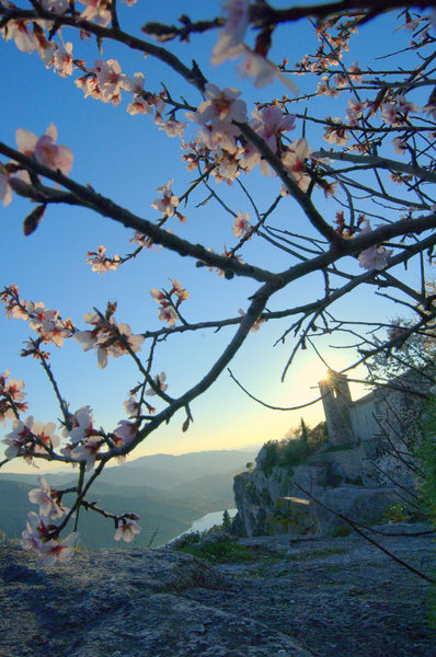 Rock Climbing Photo: Spring in Siurana.
