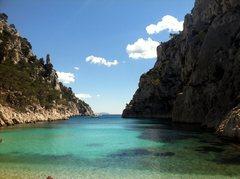 Rock Climbing Photo: Calanque En Vau beach.