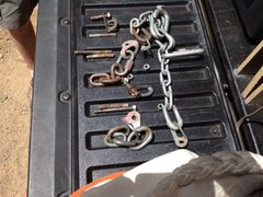 Rock Climbing Photo: 4 belay bolts and 3 lead bolts pulled out of the w...
