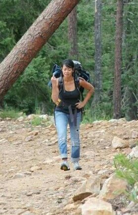 Rock Climbing Photo: Hiking out of the orifice is my favorite thing to ...