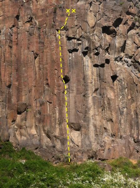 Rock Climbing Photo: at a distance
