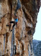 """Rock Climbing Photo: Unknown climber on """"Prvi put"""" at sector ..."""