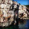 DWS cliff at Kap Kamenjak.