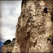 Rock Climbing Photo: Crni Kal, right side.