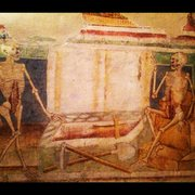 Rock Climbing Photo: 500+ year old frescoes in the church at nearby Hra...