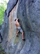 Rock Climbing Photo: working the Sine Wave