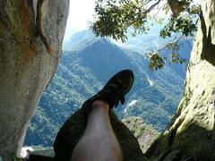 Rock Climbing Photo: 1st cave