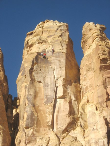 FA Rising Sons Tower .Family Butte. San Rafael Swell