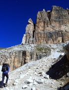 Rock Climbing Photo: Hiking to Piz Pordoi.