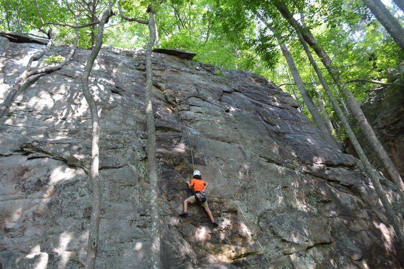 Adrian's climb