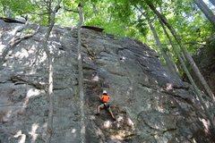 Rock Climbing Photo: Adrian's climb