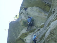 Rock Climbing Photo: P2 of BOG Man.