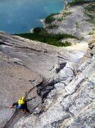 Rock Climbing Photo: Joy!