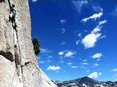 Rock Climbing Photo: Best 5.7 in the City??