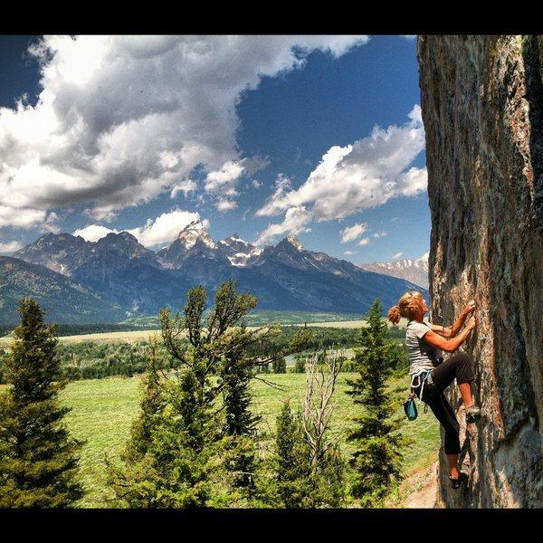 Rock Climbing Photo: Good climbing. Great views.