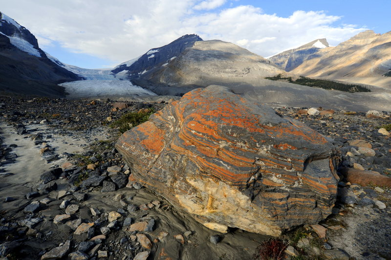 Rock Climbing Photo: Looking toward the Columbia Icefields.