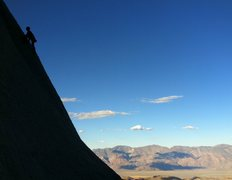 Rock Climbing Photo: Climbing at the Candlelight Buttress with the sout...
