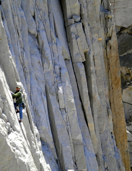 Climber on Tradewinds.