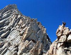 Rock Climbing Photo: Mt Humphreys, East Arete.
