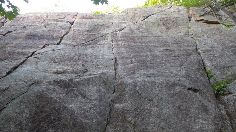 Rock Climbing Photo: Still Another Climb is the obvious diagonal crack ...