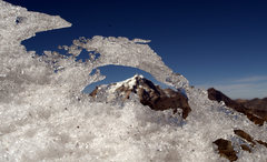 Rock Climbing Photo: Huayna Potosi as seen from the Condoriri Group.  2...