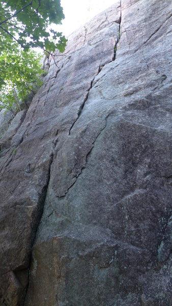 Rock Climbing Photo: Route ''B''