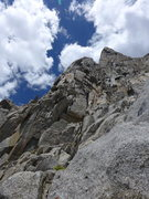 Rock Climbing Photo: first 2 towers (I gained the ridge just after the ...
