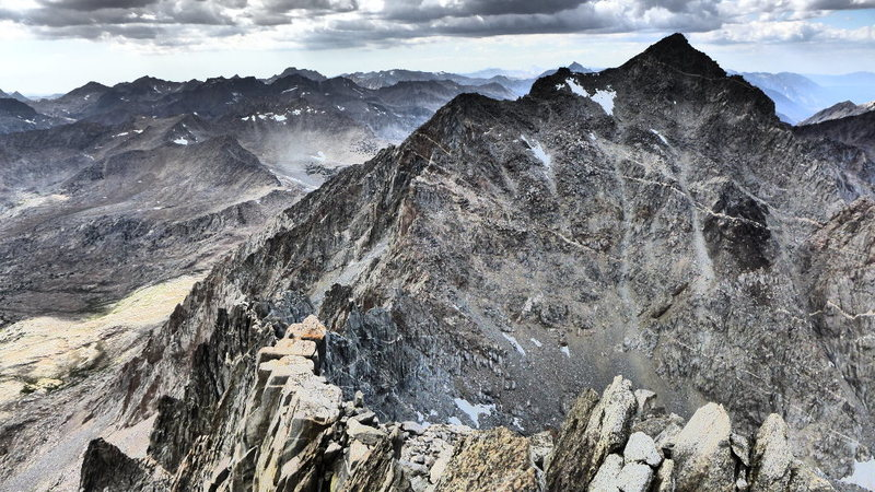 Rock Climbing Photo: another view of the NW Ridge and Agassiz