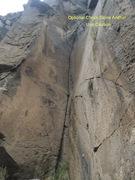 Rock Climbing Photo: Vapor Lock on the left. Great Crack climb.