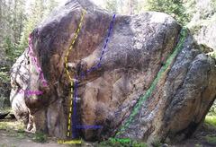 Rock Climbing Photo: Lesoterica Boulder.
