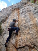 Rock Climbing Photo: Chiquito pero Picon (July 2014)