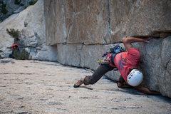 Rock Climbing Photo: Climber: Jon Trask    Photo: Steve Cox