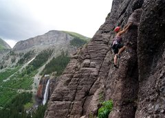 Rock Climbing Photo: Scenic climbing!