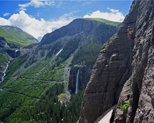 Rock Climbing Photo: Awesome scenery climbing in Telluride!
