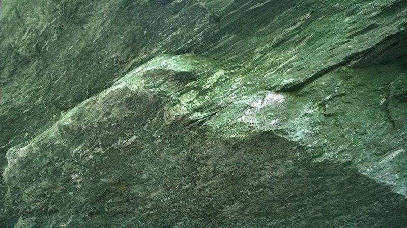 Rock Climbing Photo: Starting hold