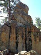 Rock Climbing Photo: Sleepy Bear Tower (West Face), Big Bear South