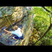 Rock Climbing Photo: Climbing Mr. Bungle | July 6, 2014