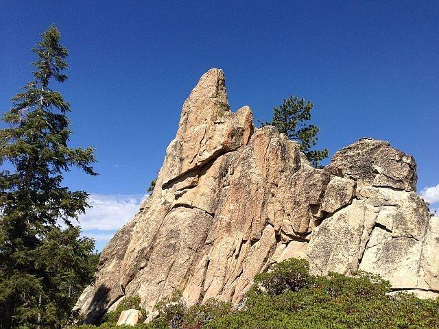 Rock Climbing Photo: Nightmare Tower, Big Bear South