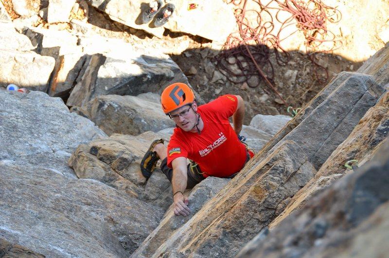 Climbing in WV