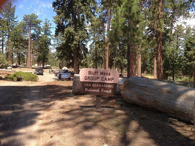 Bluff Mesa Group Camp, Big Bear South