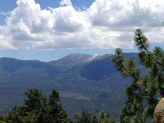 Rock Climbing Photo: San Gorgonio Mountain from the Skyline Trail (2N10...