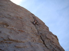 Rock Climbing Photo: Hannah Thatcher leading Dorothy's Crack