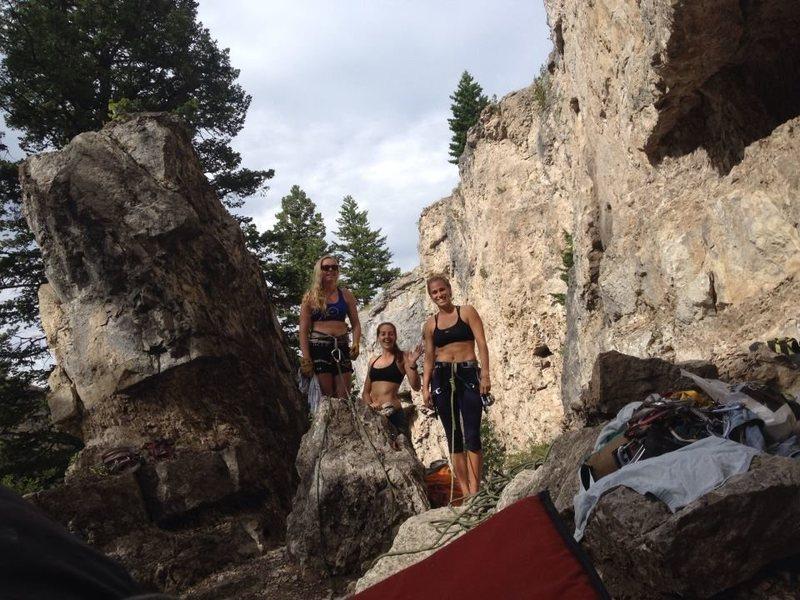 Rock Climbing Photo: Girl's Climbing day!