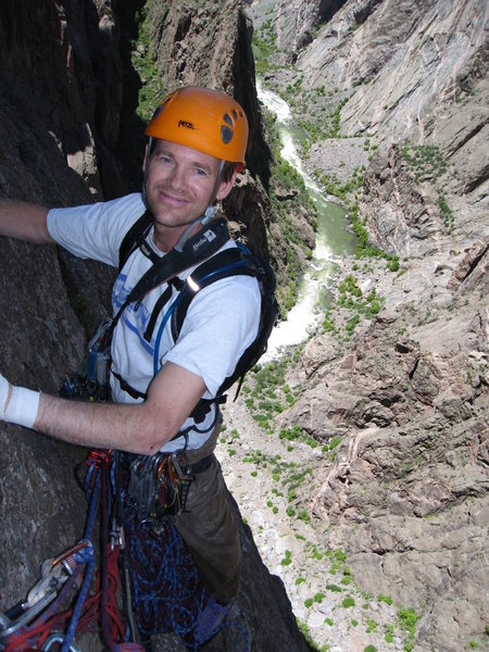 Rock Climbing Photo: Black Canyon, Comic Relief