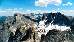 Rock Climbing Photo: Pano from the top of Wolf's Head
