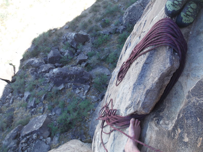 Rock Climbing Photo: nice ledge