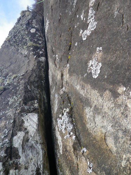 Rock Climbing Photo: 4 for 40. The picture angle makes it look steeper ...