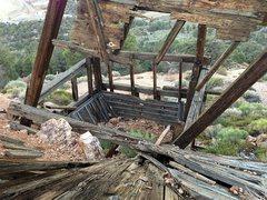 Rock Climbing Photo: Lucky Baldwin Stamp Mill, Big Bear North