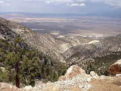 Rock Climbing Photo: Furnace Canyon view, San Bernardino Mountains
