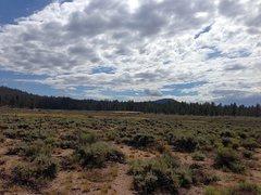 Rock Climbing Photo: Clouds over Holcomb Valley (3N07), San Bernardino ...
